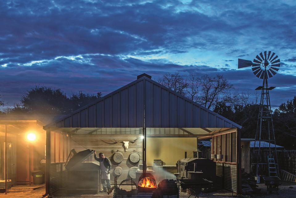 A view of the Perini Ranch in Buffalo Gap, TX.