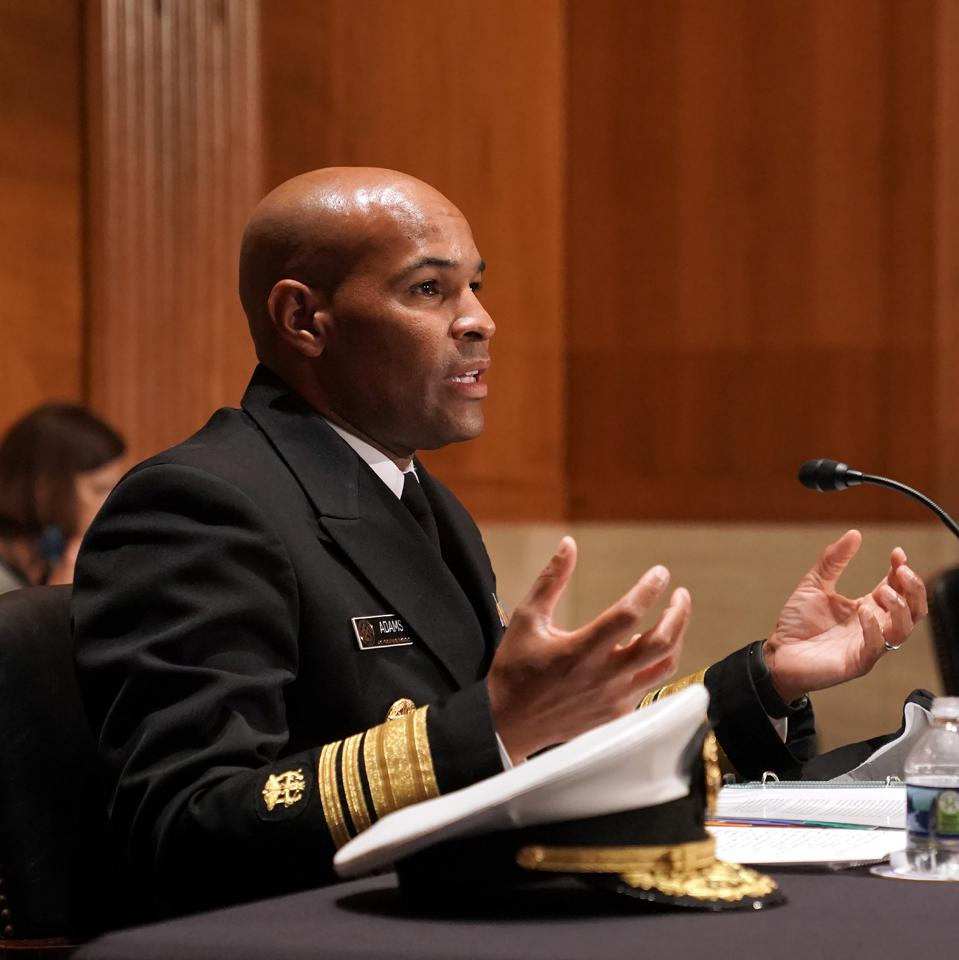 Surgeon General Adams And NIH Director Collins Testify To Senate Committee On Vaccines And Public Health