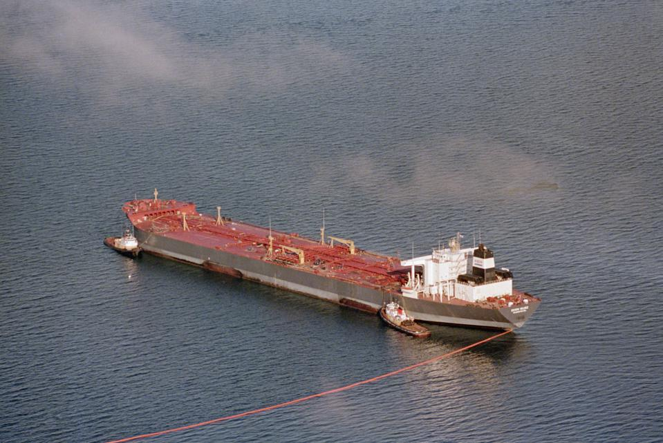 The US banned single hull oil tankers after the 1989 Exxon Valdez oil spill in Alaska, but other sorts of cargo and container ships continued to be allowed to use single hulls