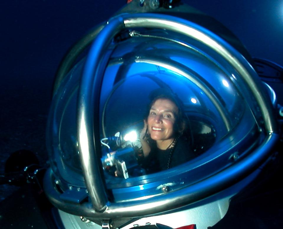 Oceanographer, Dr Sylvia Earle