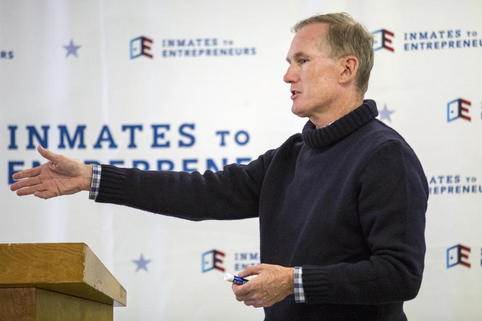 Brian Hamilton co-founded Inmates to Entrepreneurs