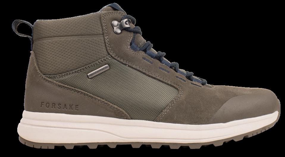 A lightweight, low-profile sneaker-boot fully waterproof.