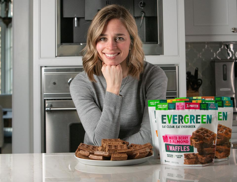 Emily Groden is the founder of Chicago-based frozen waffles company Evergreen.