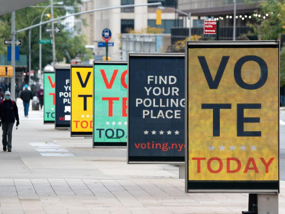 Political candidates and causes push their case across advertising platforms.