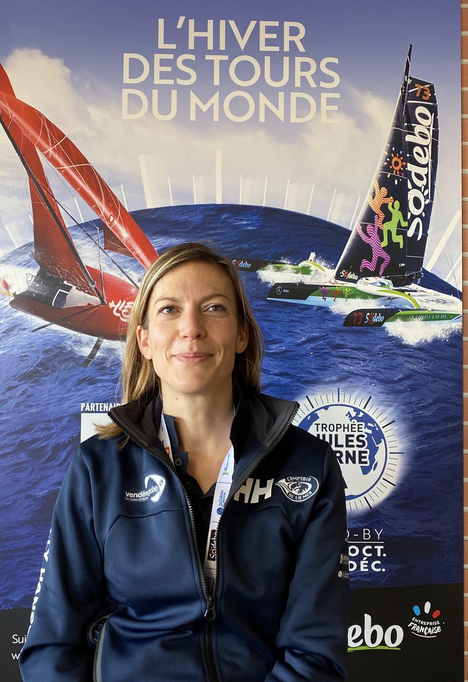 CEO of Vendée Globe - Laura Le Goff