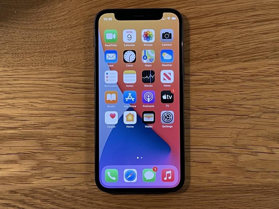 Apple iPhone 12 mini - it's all screen.