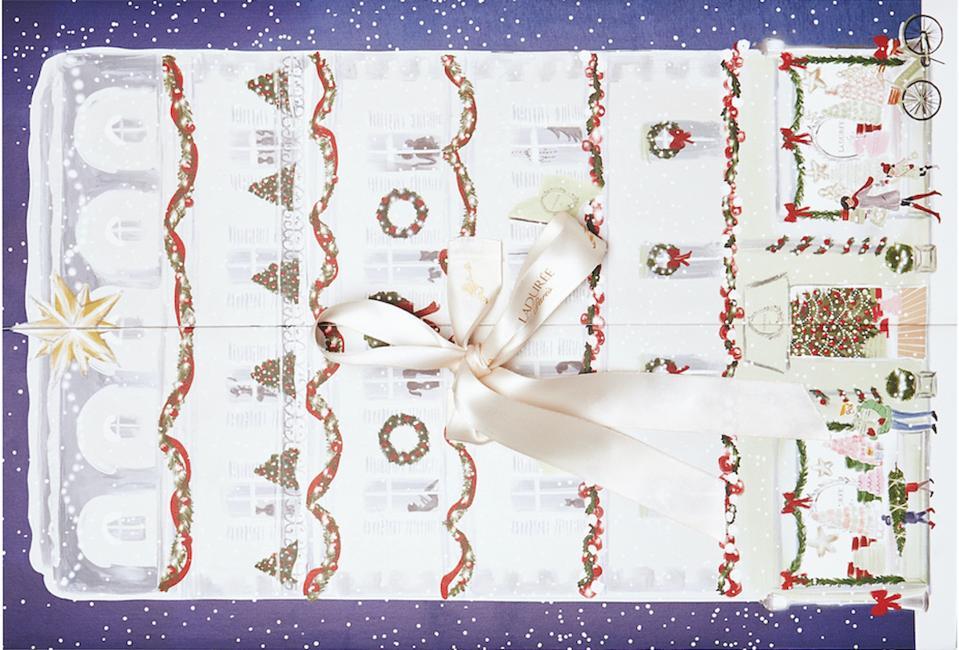Ladurée advent calendar with bow