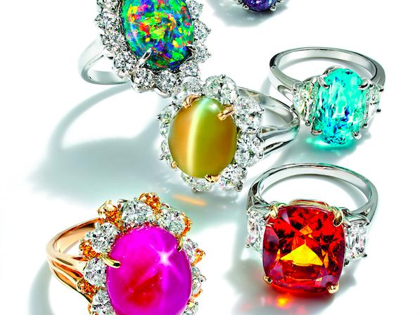 One-of-a-kind rings from the luxury jewelry collection.