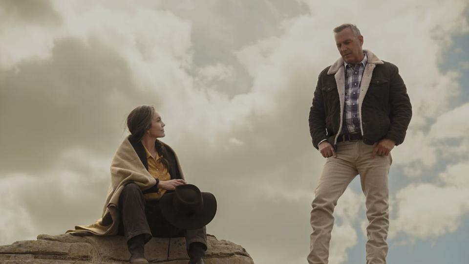 Diane Lane and Kevin Costner in 'Let Him Go'