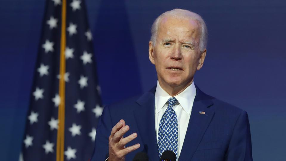 President-Elect Joe Biden Delivers Remarks On Coronavirus And US Economy