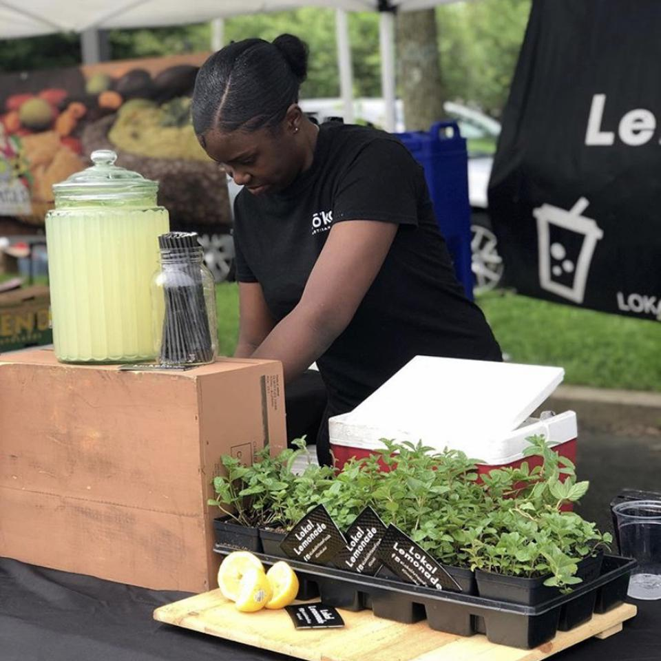 Twelve-year-old Madison McGill starts her first business infusing lemonade with local produce at the Lansdale Farmers Market.