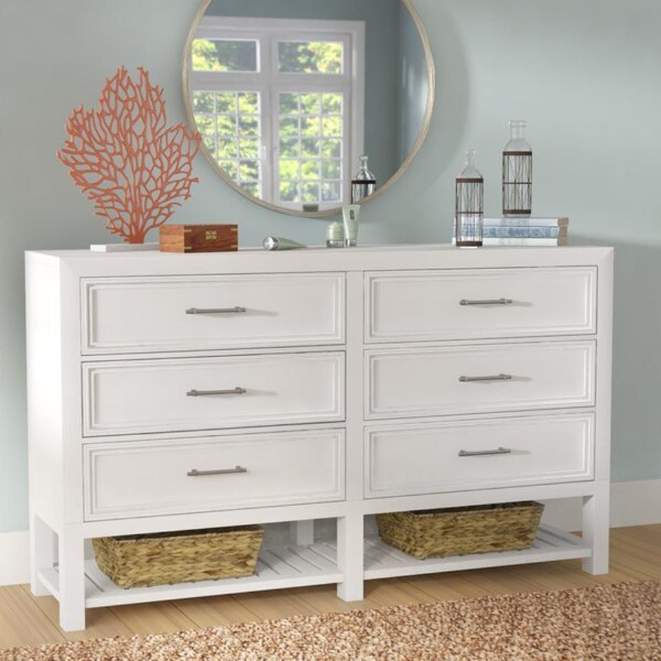Elosie 6 Drawer Double Dresser