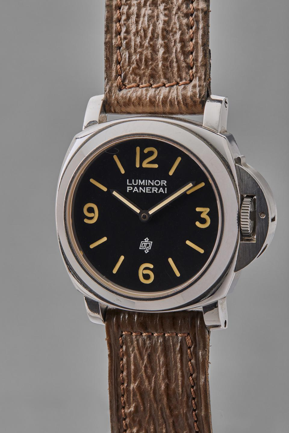 Sylvester Stallone's Panerai Luminor, worn in the movie Daylight, up for auction at Phillips.