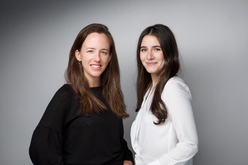Ethena co-founders Roxanne Bras Petraeus (CEO) and Anne Solmssen (CTO).