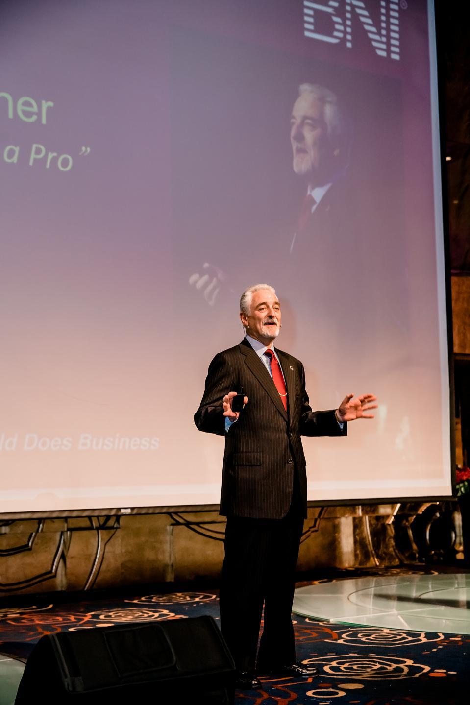 Dr. Ivan Misner, Founder & Chief Visionary Officer of BNI