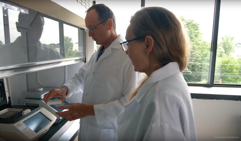 Morten & Gitte Pedersen, Founders of Genomic Expression