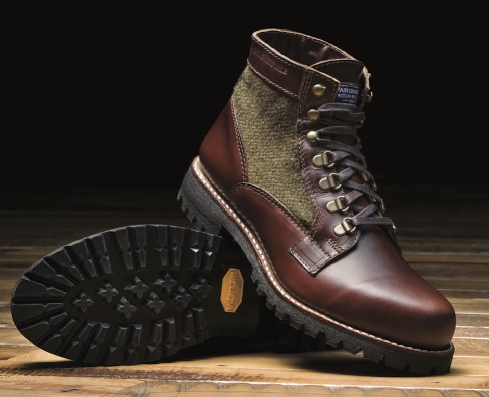 Wolverine Men's 1000 Mile Faribault Boot in brown/green