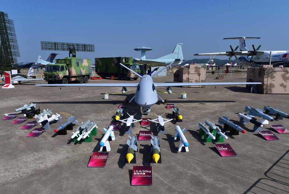CHINA-ZHUHAI-AVIATION-EXHIBITION-DRONE (CN)