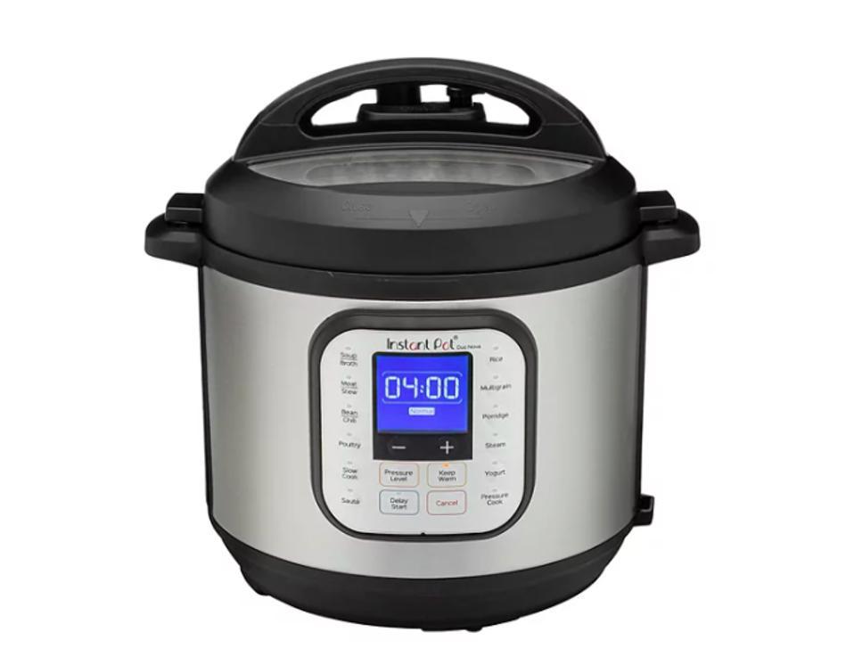 Instant Pot Duo Nova 7-in-1 Programmable Pressure Cooker, 8 QT