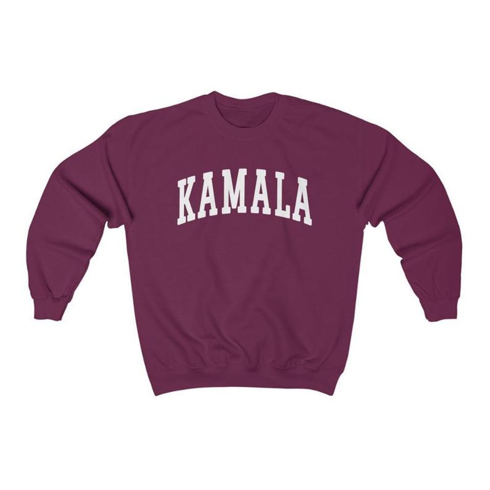 Kamala Harris College Sweatshirt Campaign Sweater Democrats