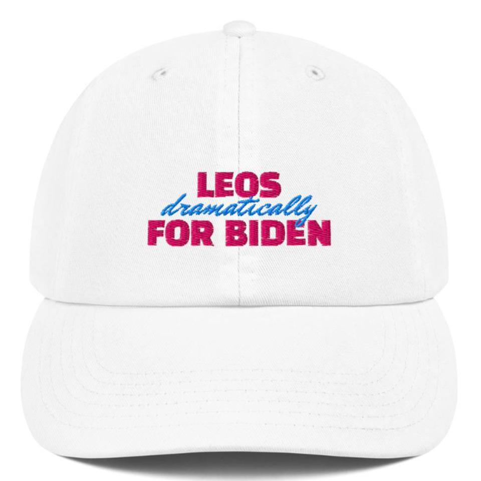 Leos for Biden Dad Hat