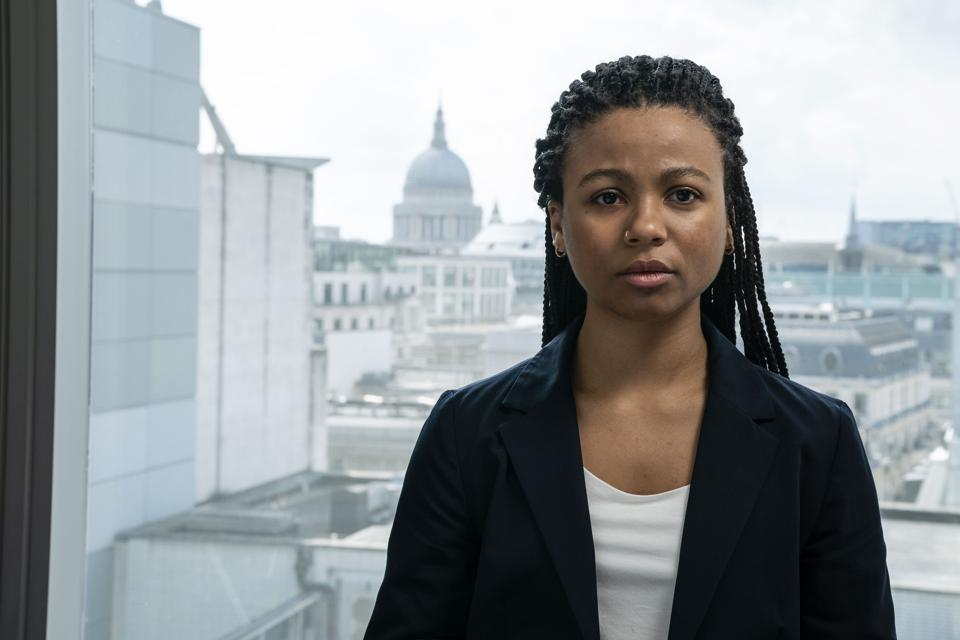Myha'la Herrold as Harper in 'Industry' on BBC and HBO