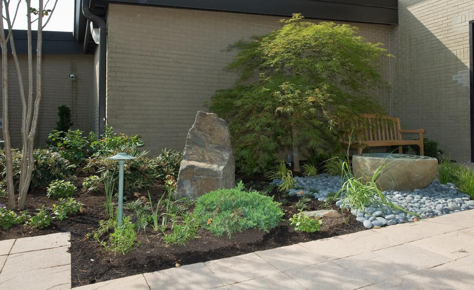 Meditation garden for the Fallen at the Dover Fisher House.