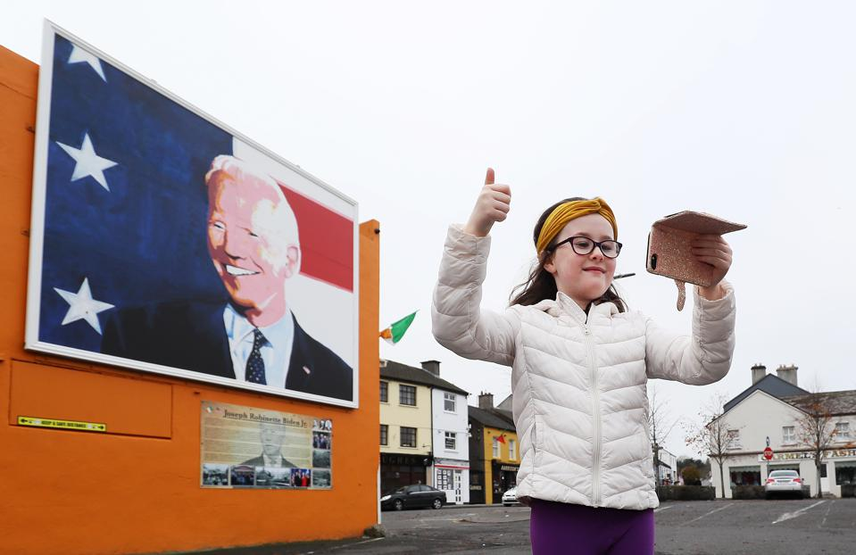 Joe Biden Ballina Mayo Ireland