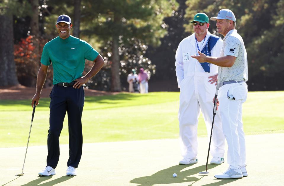 The Masters - Preview. Tiger Woods goes for his fifth Masters & Bryson for his 2nd major.