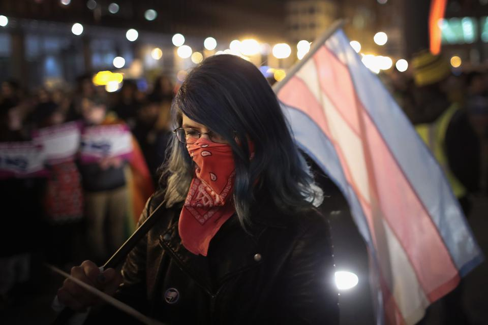 Activists In Chicago Rally For Transgender Protections