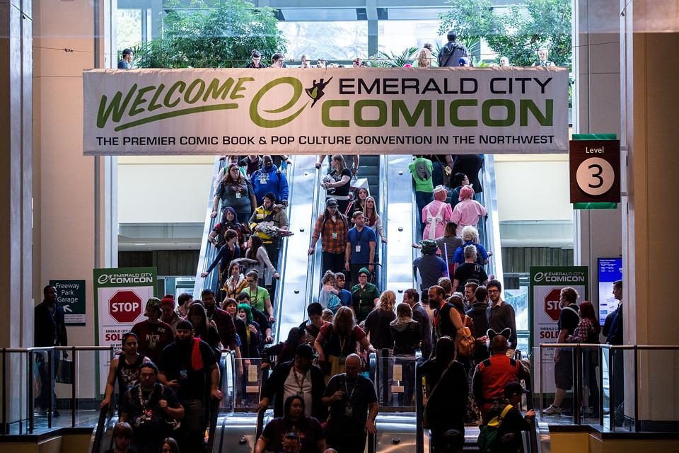 ECCC Emerald City Comicon 2015