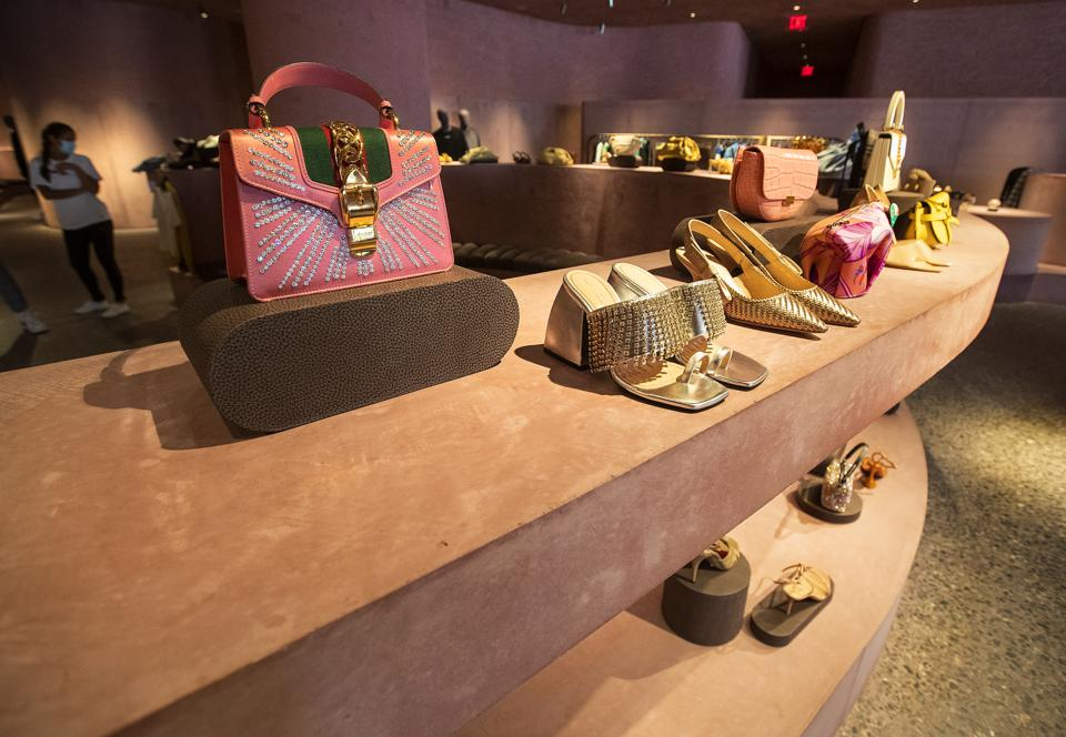 Luxury fashion boutique in Los Angeles.