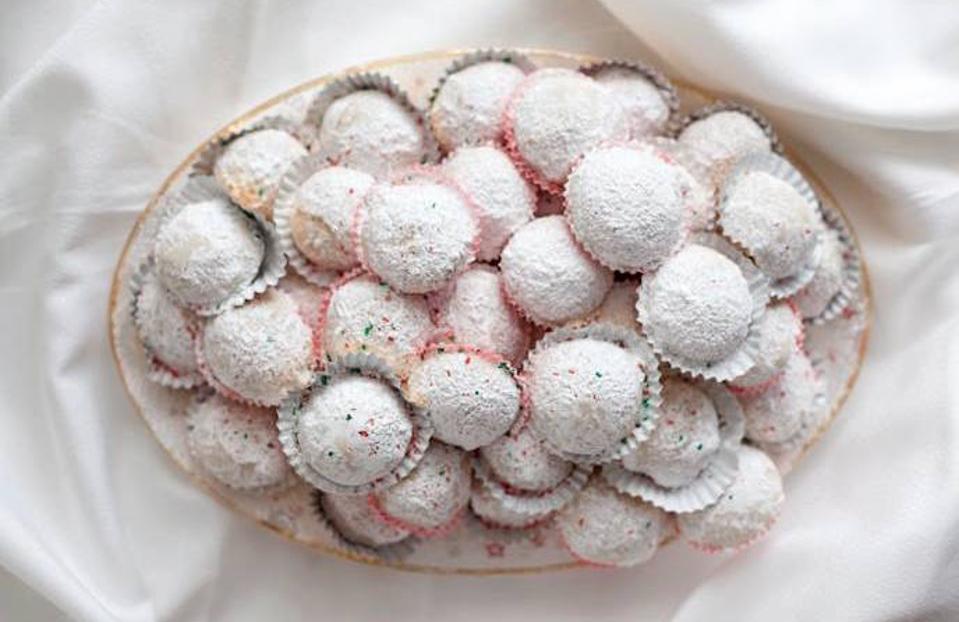 Hazelnut butter balls.