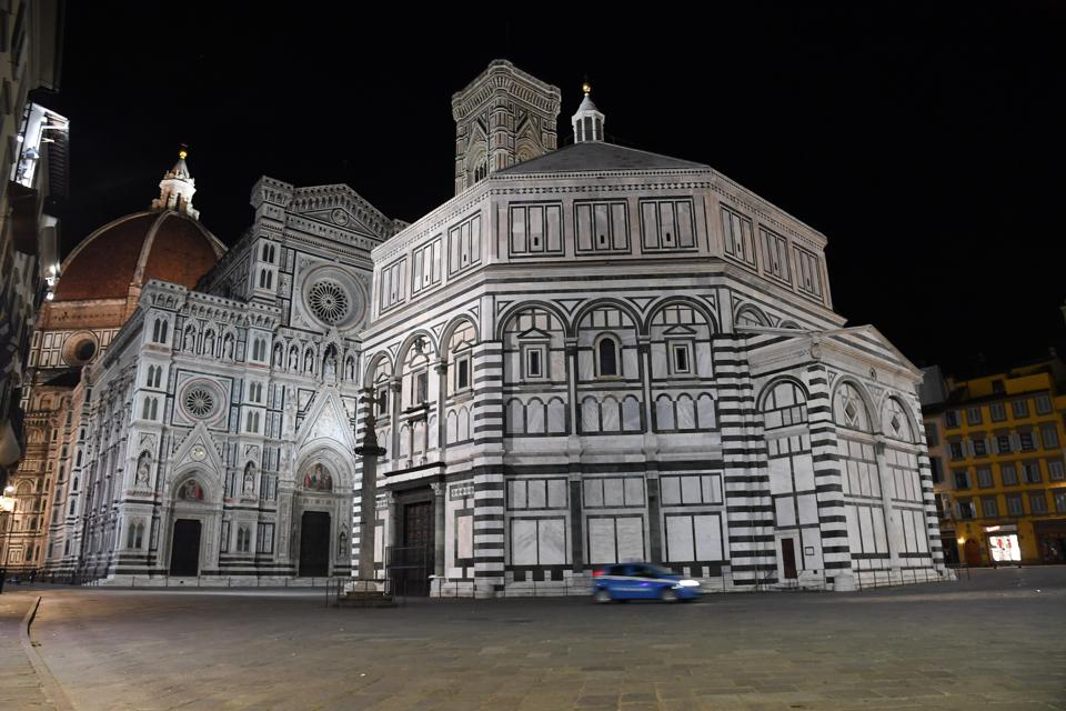The Covid-19 curfew in Florence