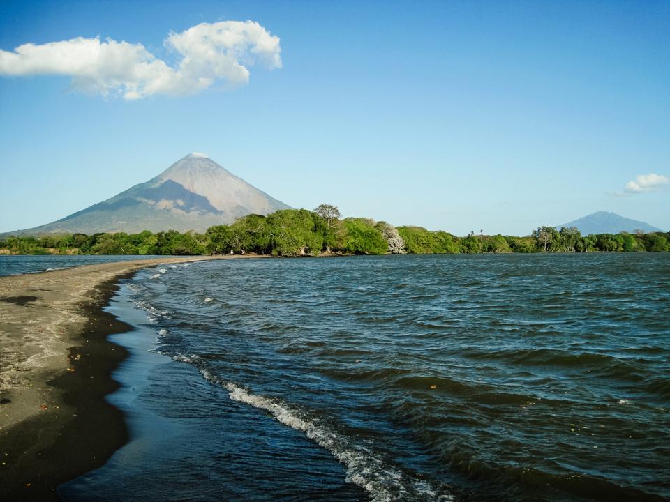 Nicaragua lake volcano sea vacation getaway safety