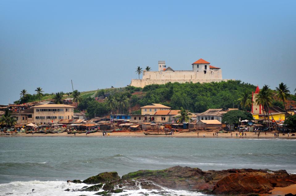 Elmina, Ghana: Fort São Tiago / Coenraadsburg