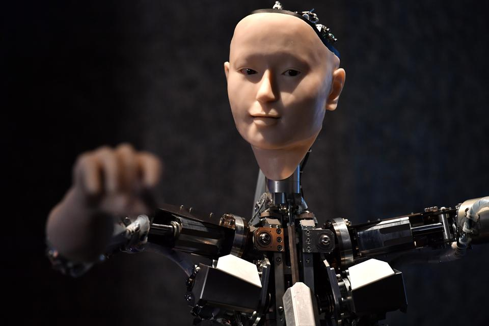 Physical artificial intelligence robot