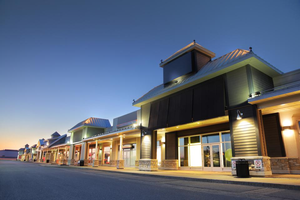 Modern Marketplace Store Exteriors