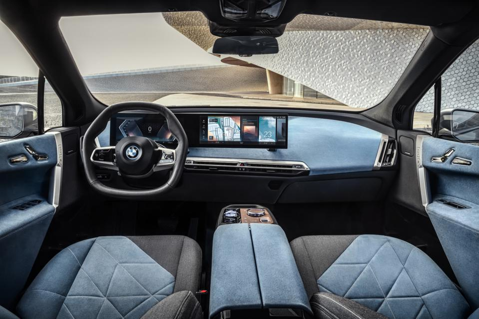 2022 BMW iX electric SUV