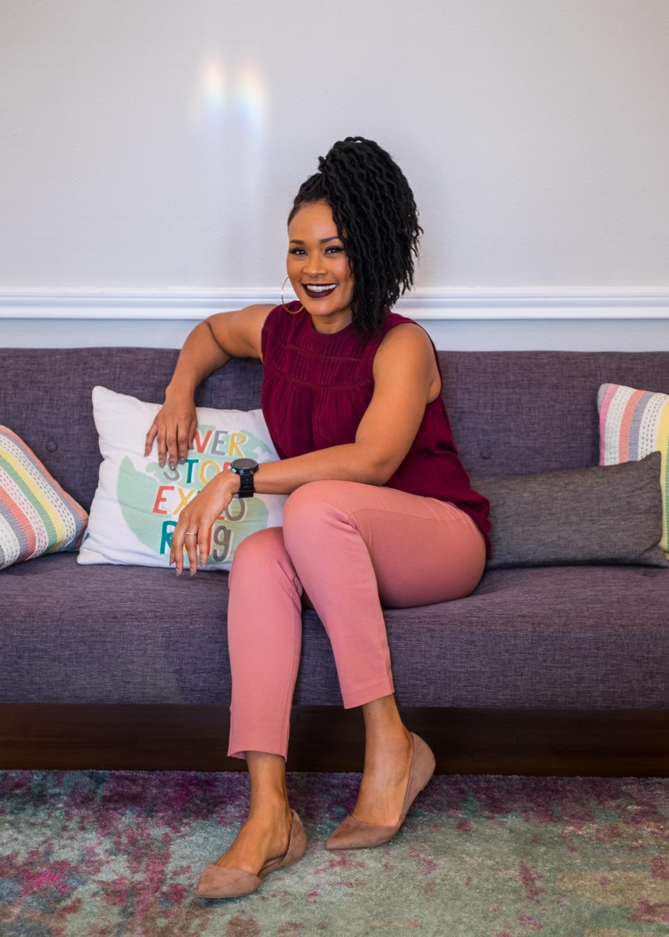 Dr. Ebony Butler hard at work as a licensed psychologist and food relationship strategist