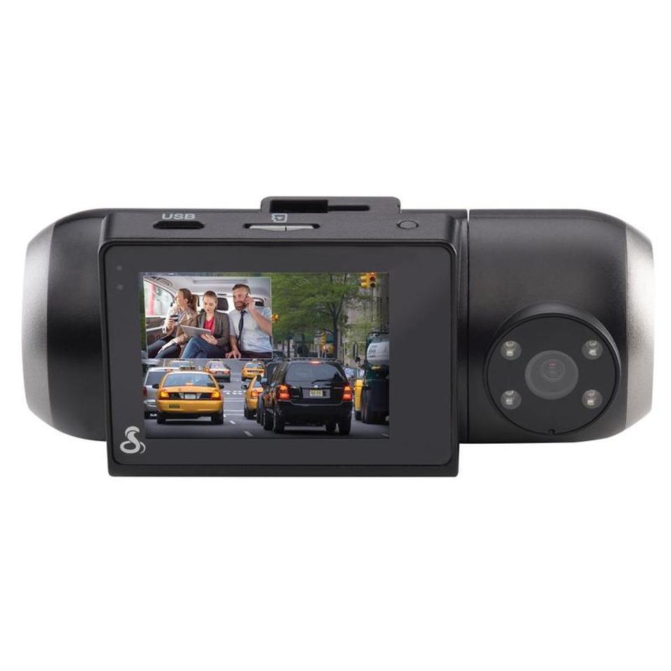 Dual-camera dashcam