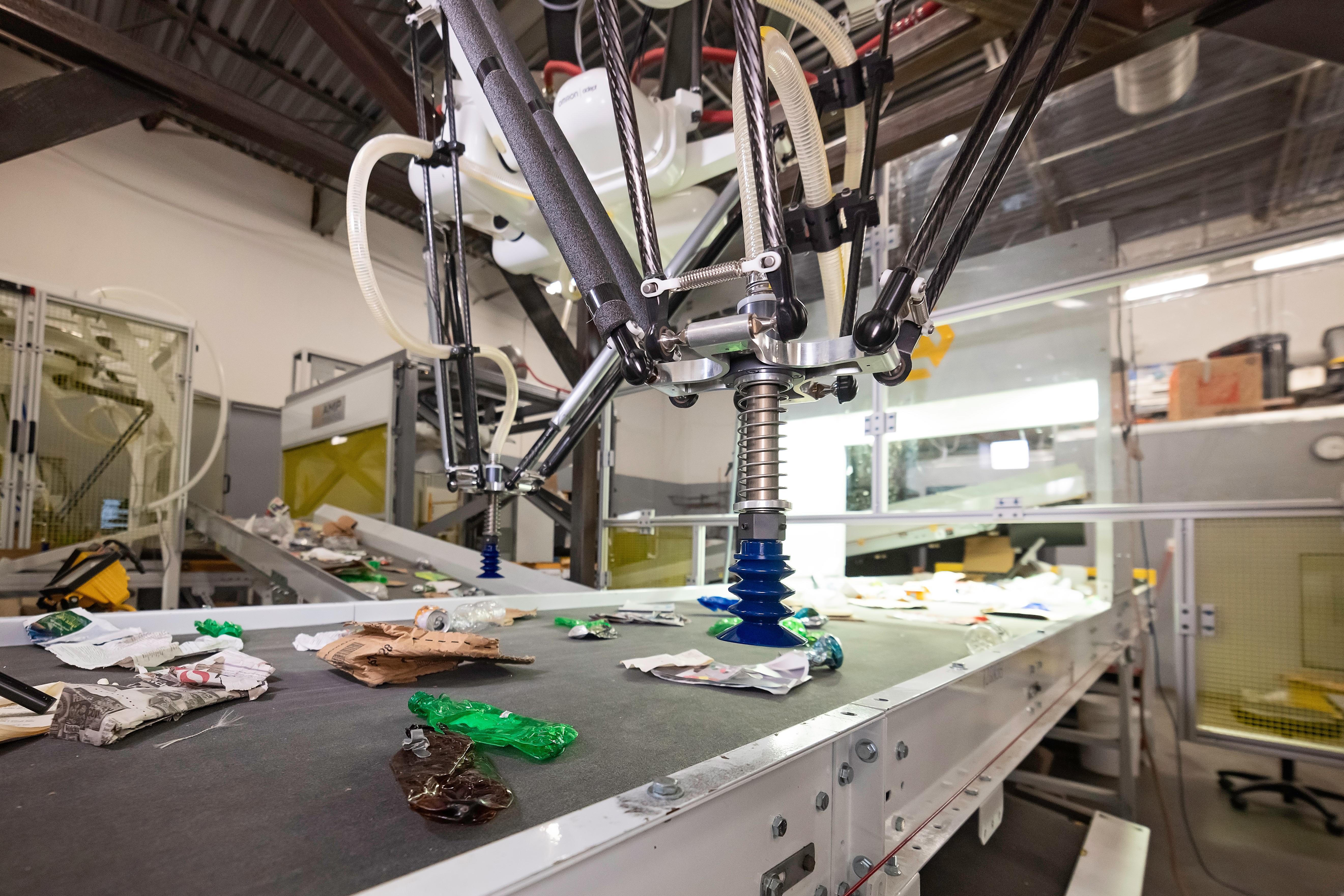 AMP Robotics' recycling robot