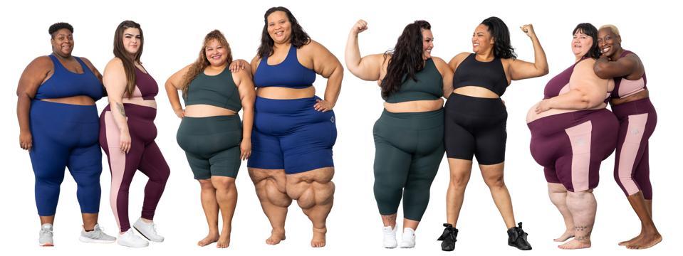 8 women wearing athletic wear