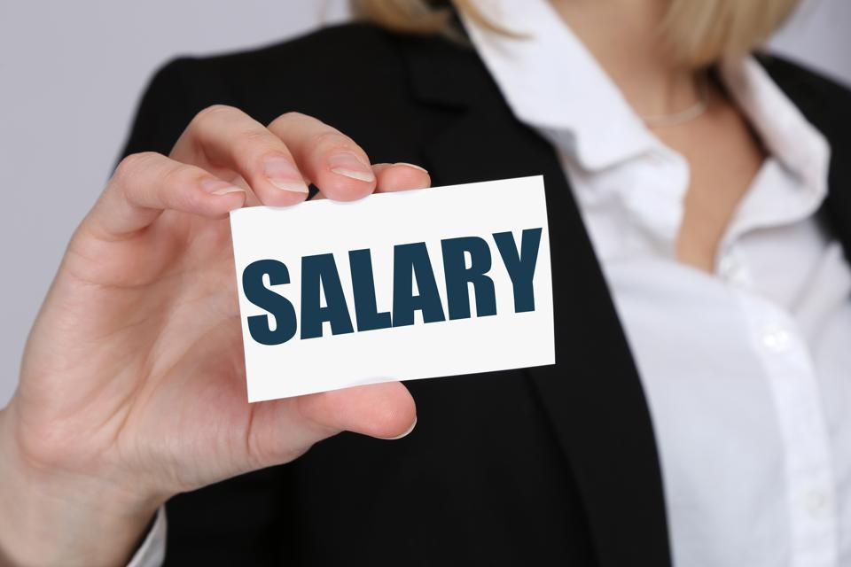Salary increase in negotiation wages