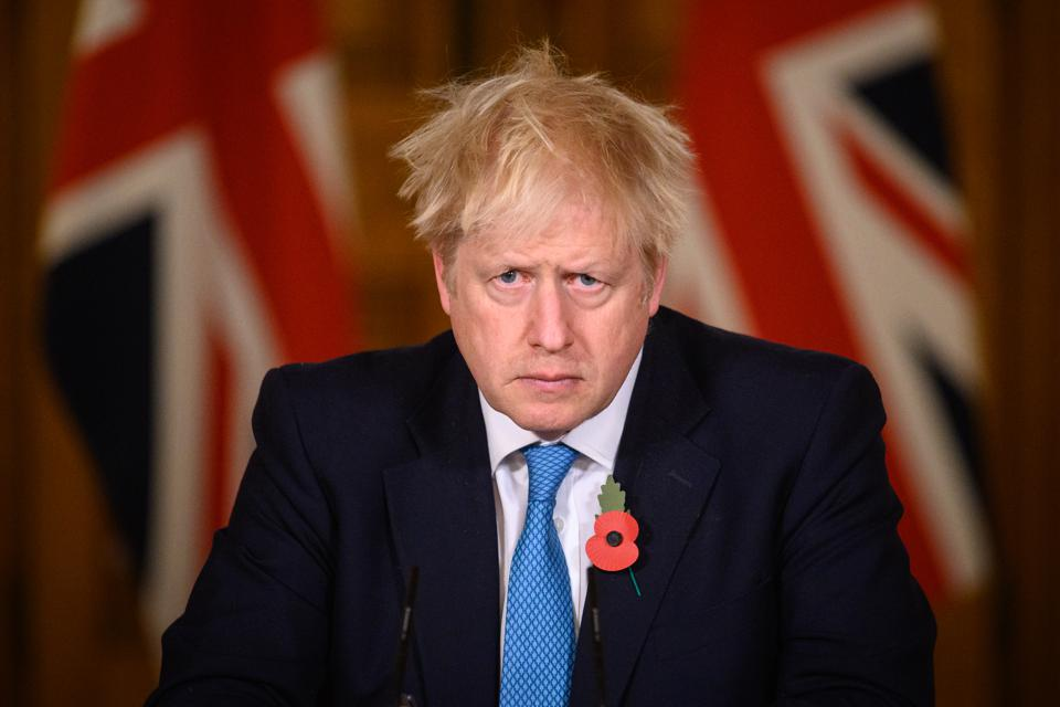 Boris Johnson Holds press conference