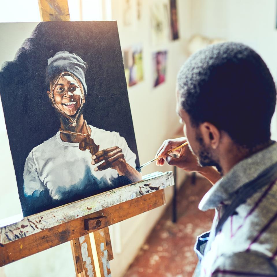 Painting is visual poetry