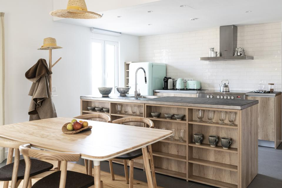 In the Alentejo, Portugal, Craveiral's suites have kitchens and big tables for working