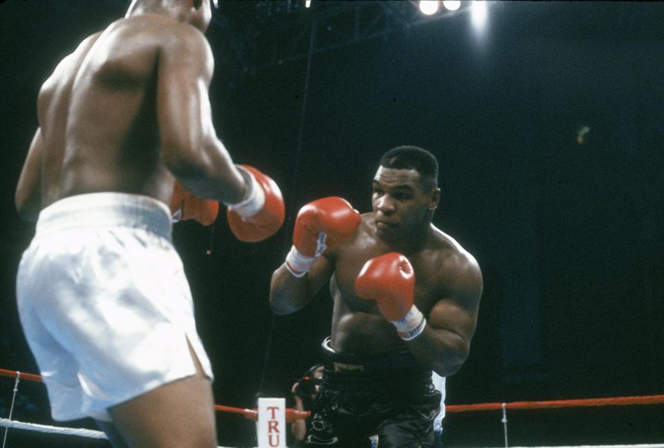 WBC, WBA and IBF Heavyweight Tittle - Mike Tyson v Tyrell Biggs