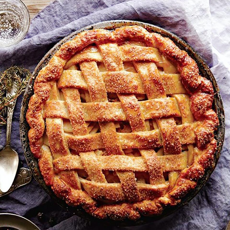 Signature Salted Caramel Apple Pie, Four & Twenty Blackbirds