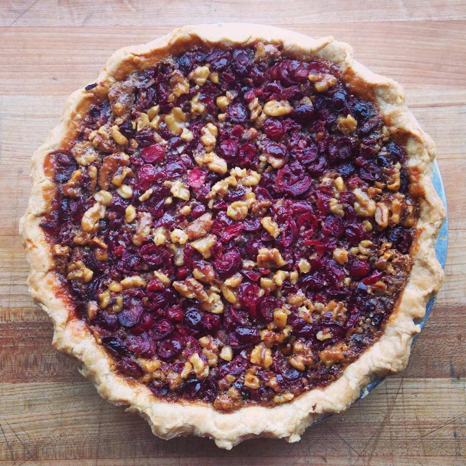 Cranberry Walnut Pie, Zingerman's